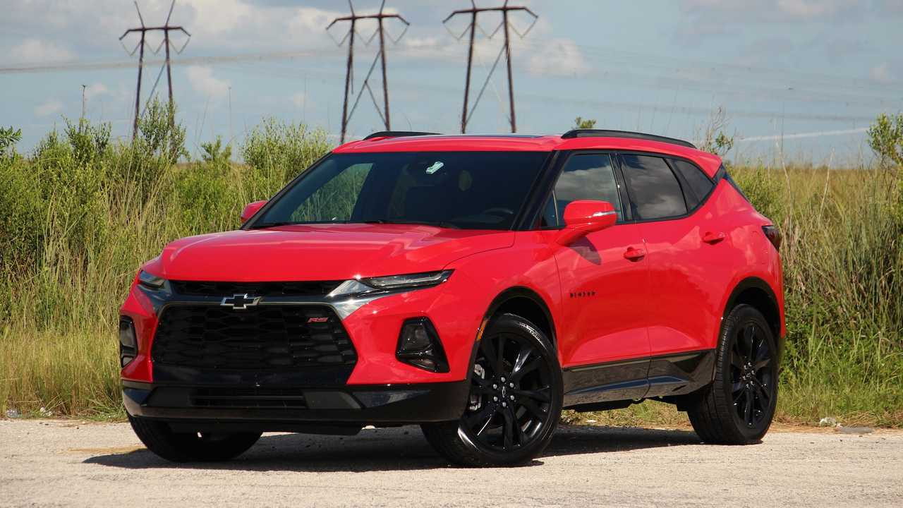 Leasing A Chevy Blazer V6 Is Cheaper Than A Four Cylinder This Month