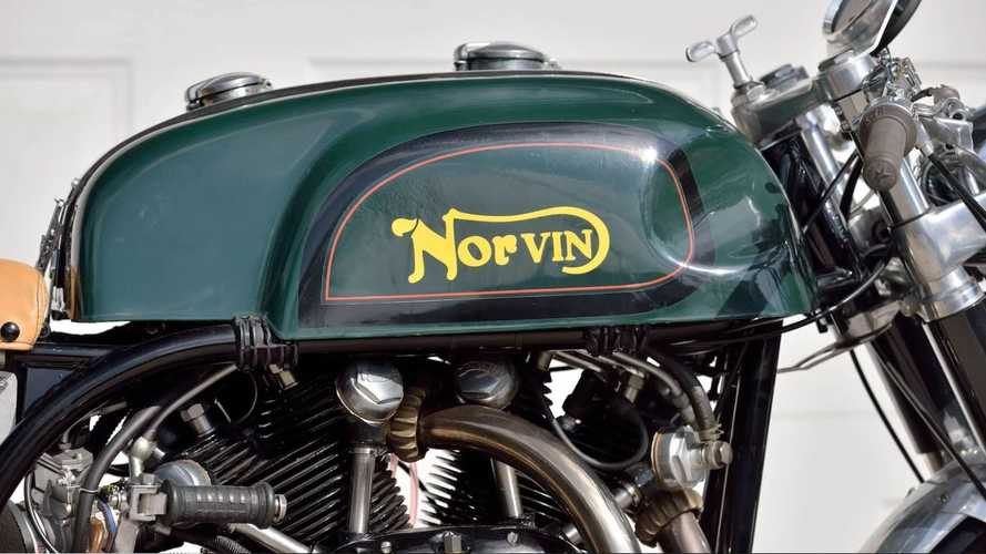 Combining A Norton And A Vincent Makes The Perfect Cafe Racer
