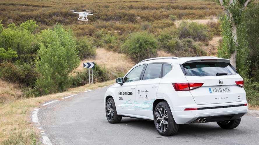 Seat will das Autofahren mit Drohnen sicherer machen