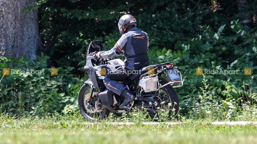 Spy Shots Husqvarna 901 Adventure Bike