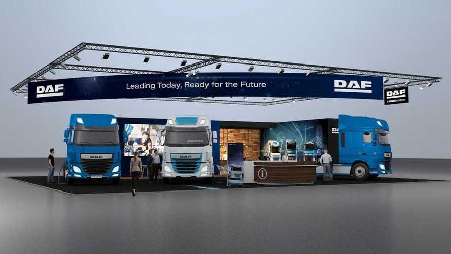 DAF trucks presenta il CF Electric al Solutrans di Lione