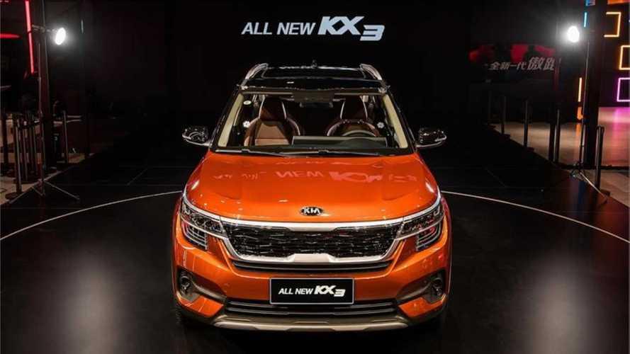 Novo Kia KX3 - China