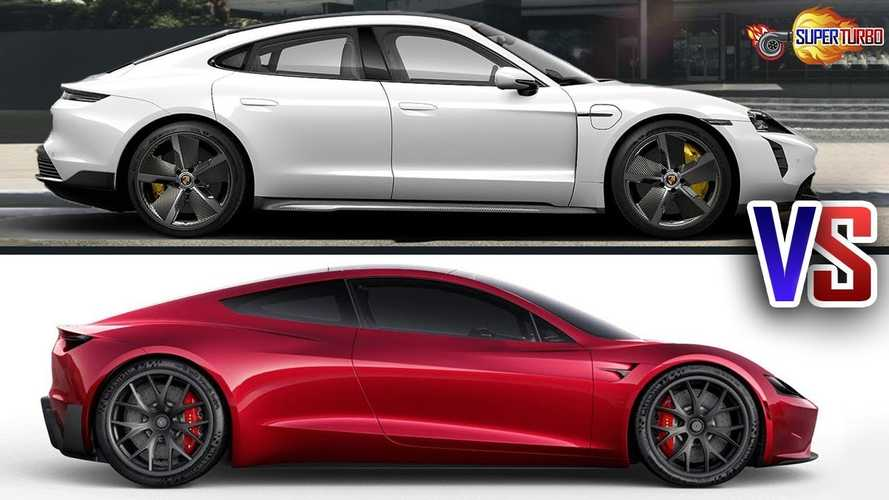 Tesla Roadster Vs Porsche Taycan: Which Electric Car Wins This Battle?