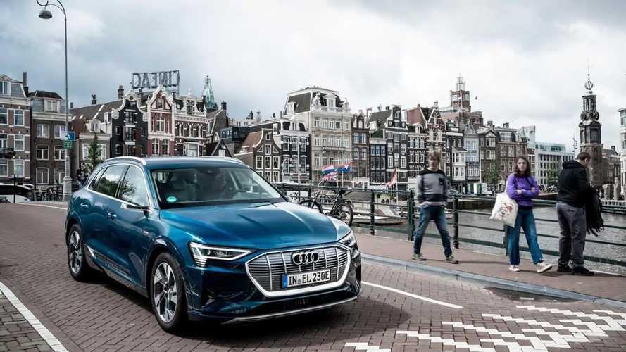Prove di autonomia per l'Audi e-tron: 10 stati in 24 ore