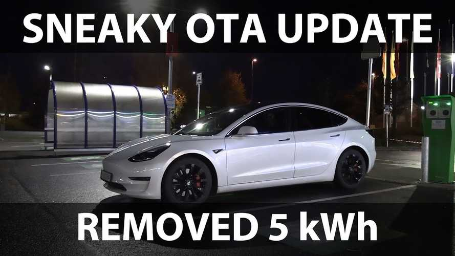 Tesla Update May Have Lowered Range For The Model 3 As Well