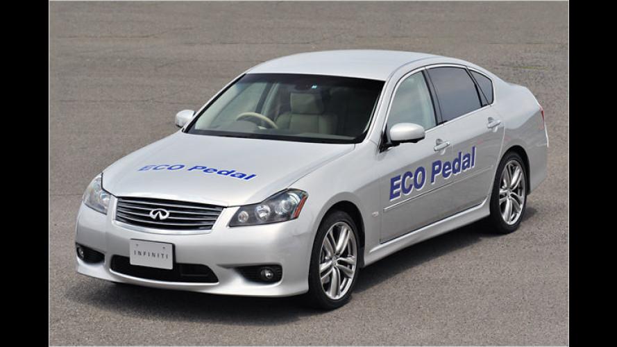 Nissan stellt das mitdenkende Gaspedal vor
