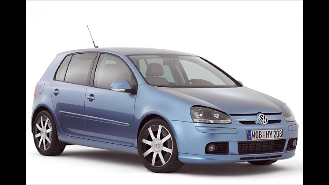 VW Golf V TDI Hybrid, Baujahr: 2008 (Studie)