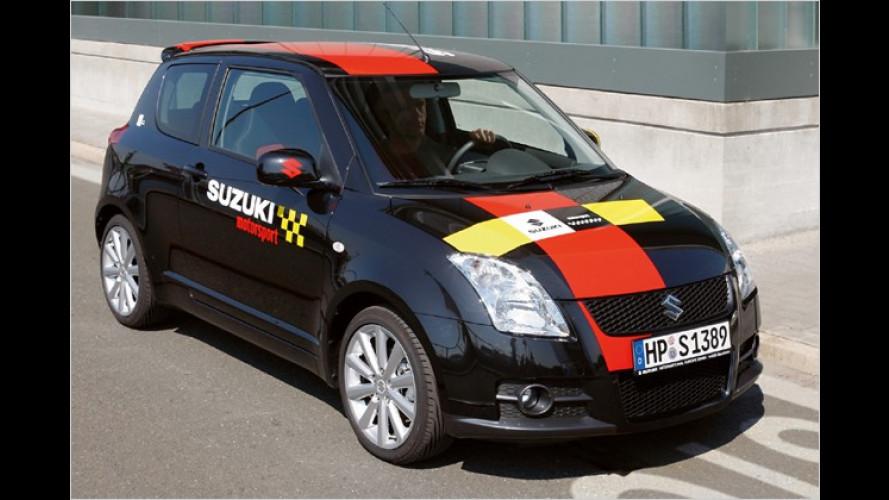 Suzuki bringt das Sondermodell Swift Sport ,Rallye N'Style