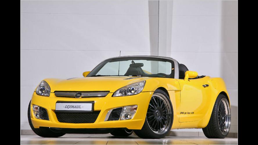 Lexmaul: Mehr Power und neuer Sound für den Opel GT