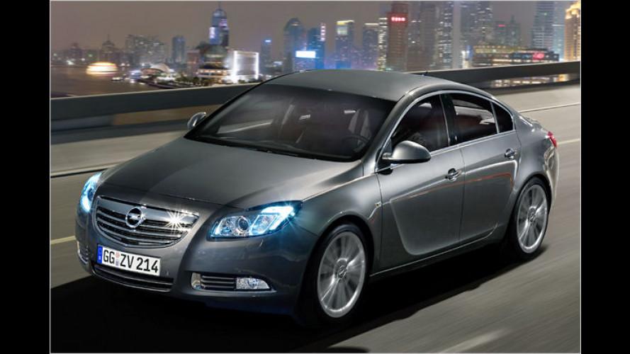 Alles fließt: Opel zeigt erste Bilder des Schrägheck-Insignia