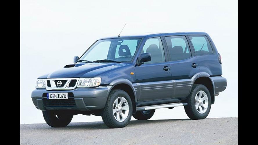 Nissan Terrano: Zum Modelljahr 2004 aufgewertet