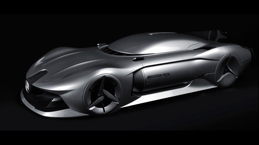 Sleek Mercedes Streamliner Render Inspired By W196 F1 Car