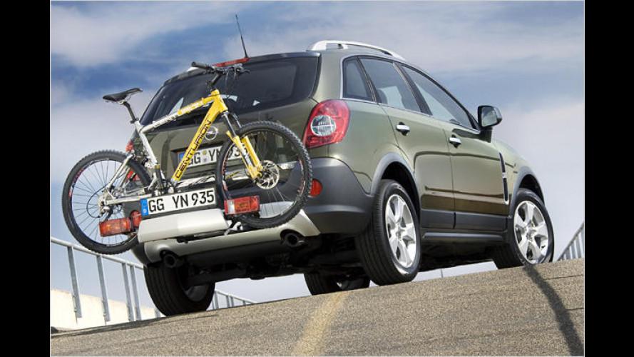 Opel Antara Flex-Fix: Fahrrad für Fernfahrten fix fest