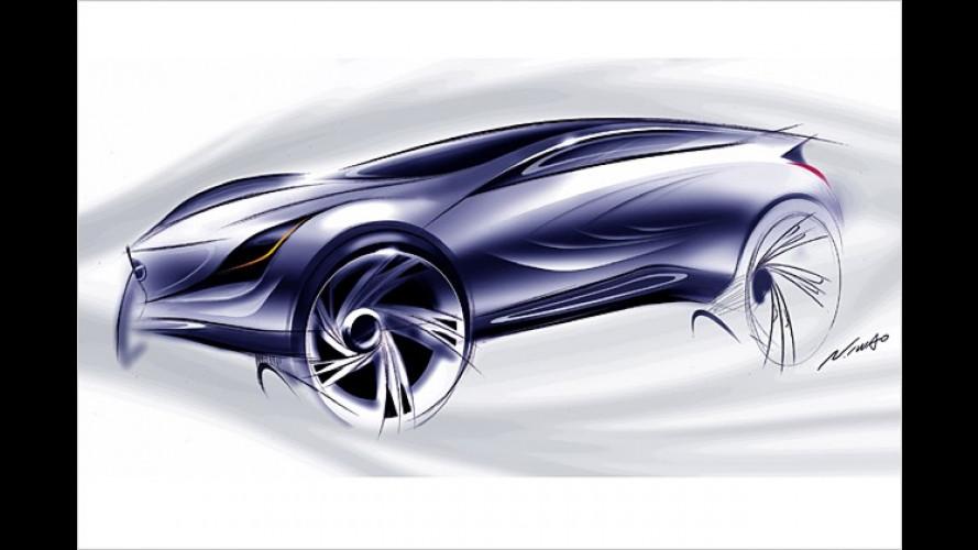 Mazda-Studie feiert Premiere auf dem Moskauer Auto Salon
