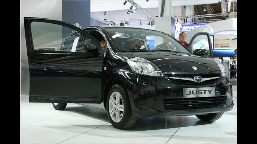 Der neue Subaru Justy: Premiere auf der IAA