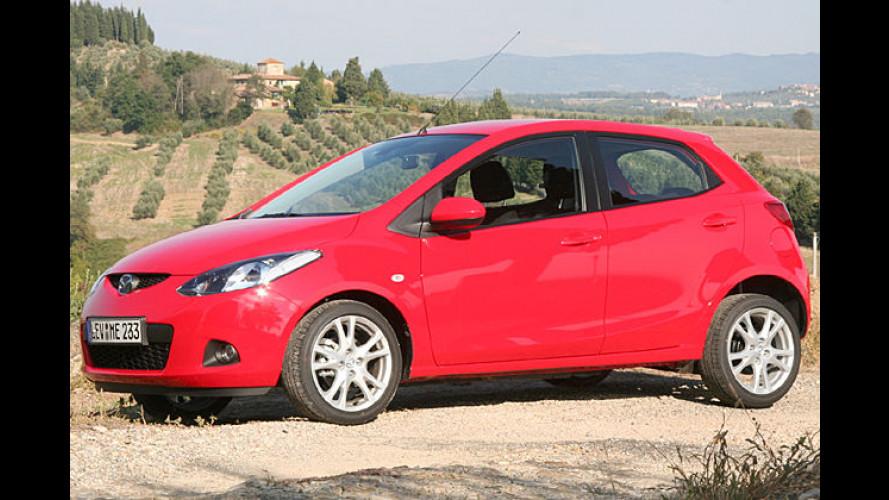 Mazda 2: Der Neuling ist kleiner und sparsamer geworden