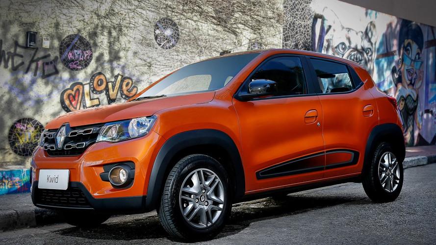 Renault Kwid brasileiro chega à Costa Rica custando quase R$ 60 mil