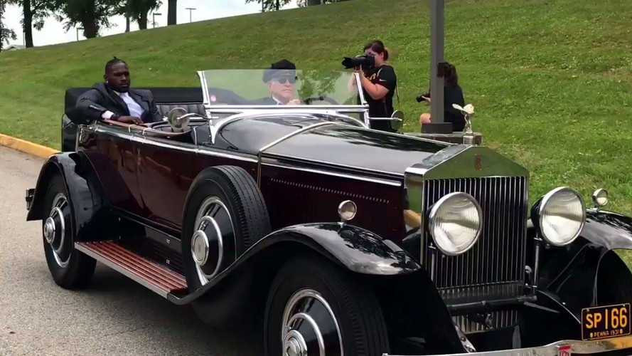 See How NFL Players Arrive At Training Camp In Style