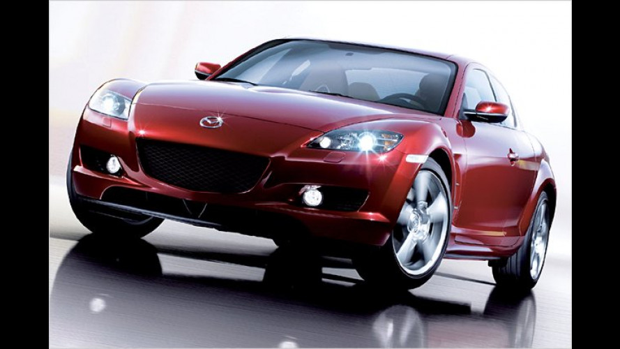Mazda RX-8 Revolution Reloaded: Luxuriöses Sondermodell
