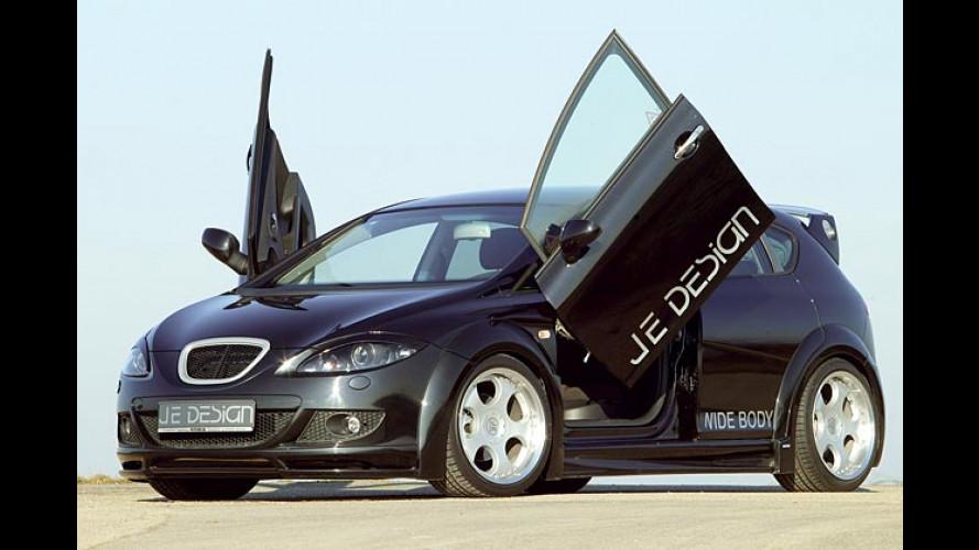 Seat Leon Wide Body: JE Design verleiht Flügel