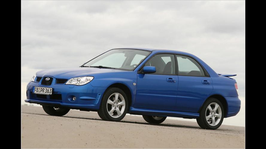 Subaru Impreza 2.0R S: Vorhang auf für die Maske in Blau