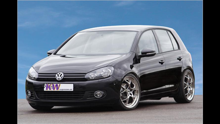 Gewindefahrwerk von KW Automotive für neuen VW Golf VI