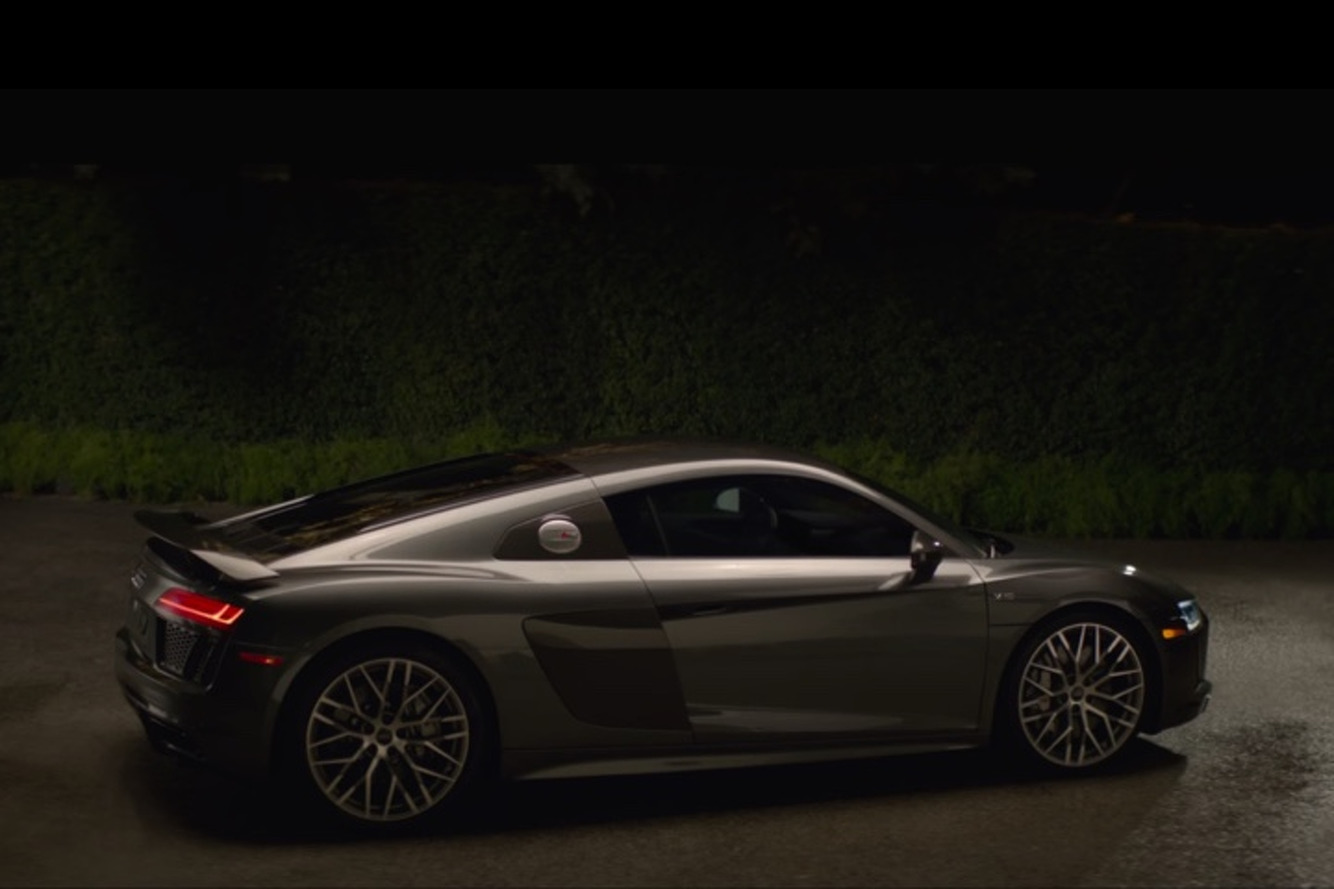 Watch the Audi R8 Channel Its Inner Rocket Ship In Latest Super Bowl Spot