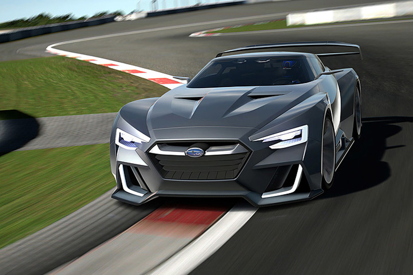 Subaru Is Working On A 300HP Mid-Engine Coupe, Says Report