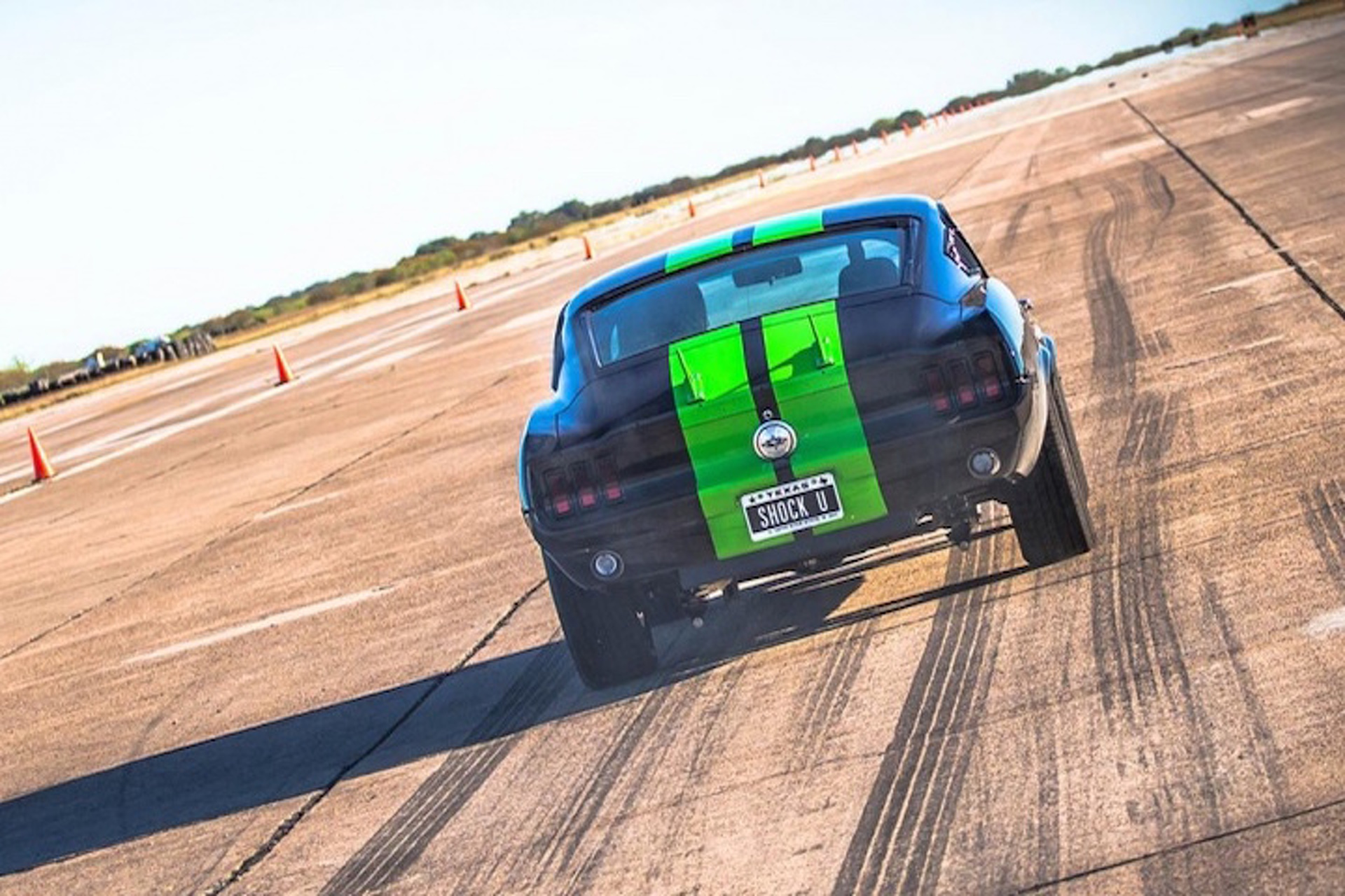 Electric 1968 Mustang Hits 60 In 2 0 Seconds And Eats Teslas For Breakfast