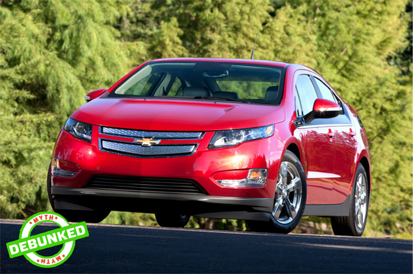 Chevy Volt Myths Debunked