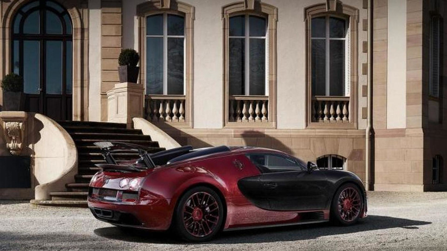Bugatti Veyron Grand Sport Vitesse La Finale returns in more official images