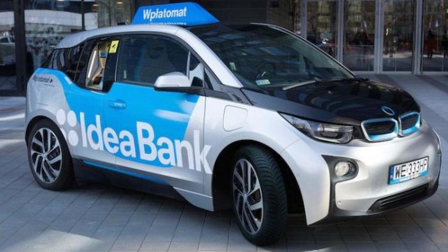 BMW i3 transformed into mobile ATM for Idea Bank clients in Poland