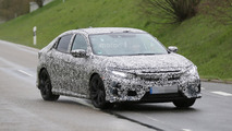 Honda Civic Hatchback spy photo