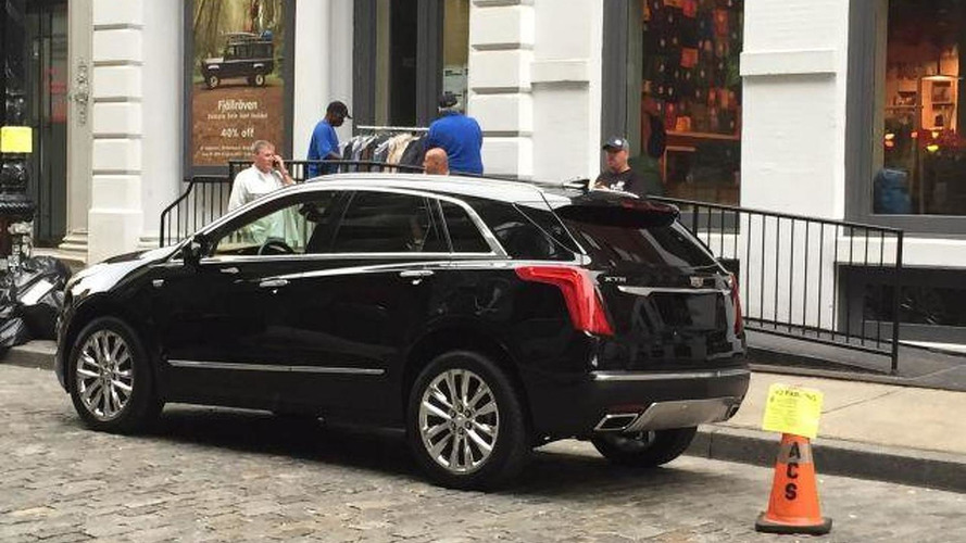 Cadillac President downplays an XT5-V