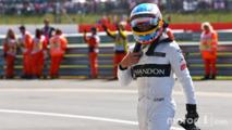 Fernando Alonso, McLaren in parc ferme
