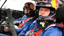 Kimi Raikkonen Drive Citroen C4 WRC for First Time