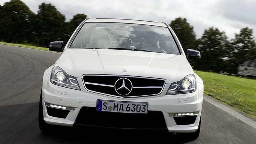 2012 Mercedes C63 AMG facelift leaked