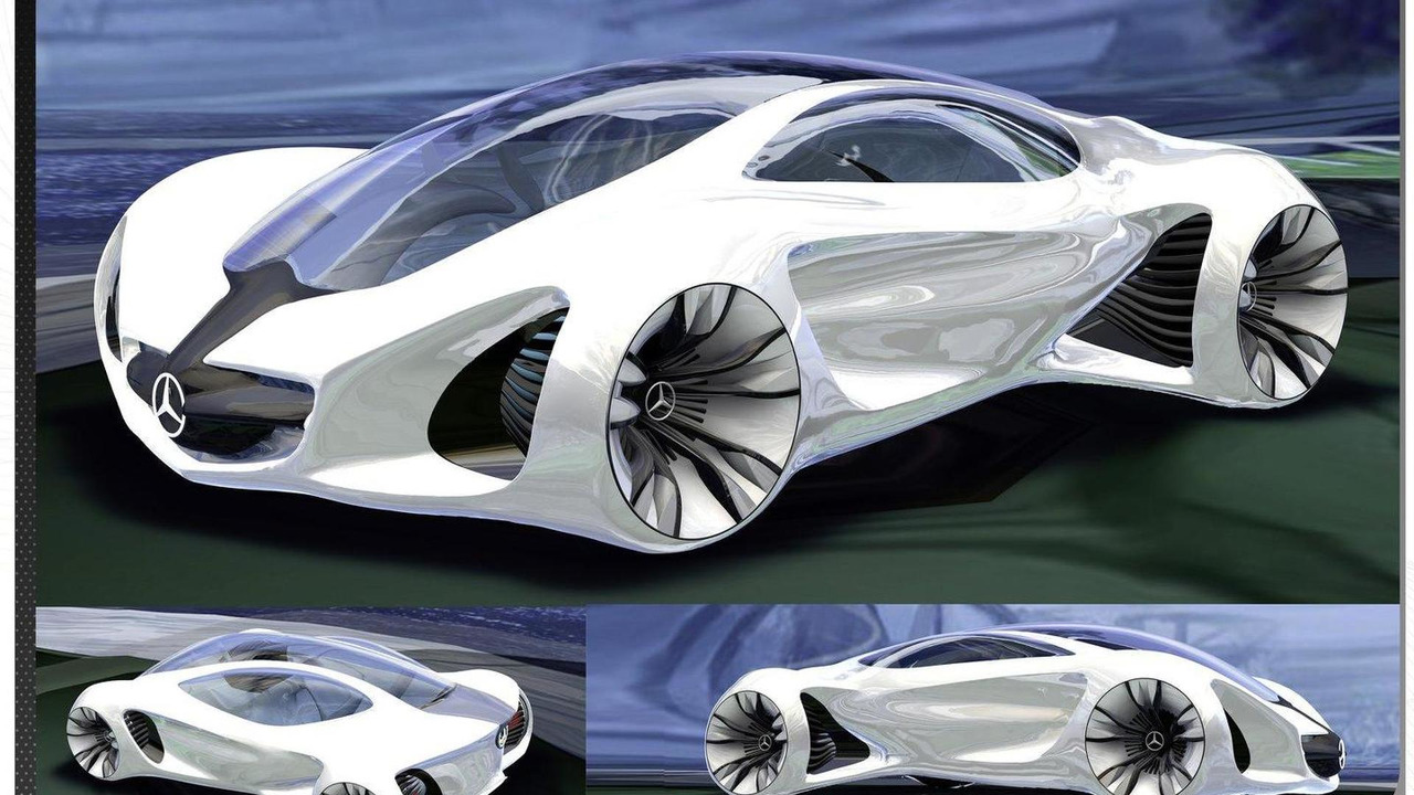 mercedes-benz biome concept gets built full-scale