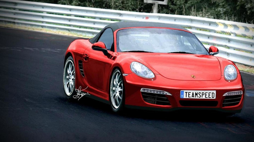 2012 Porsche Boxster S rendered