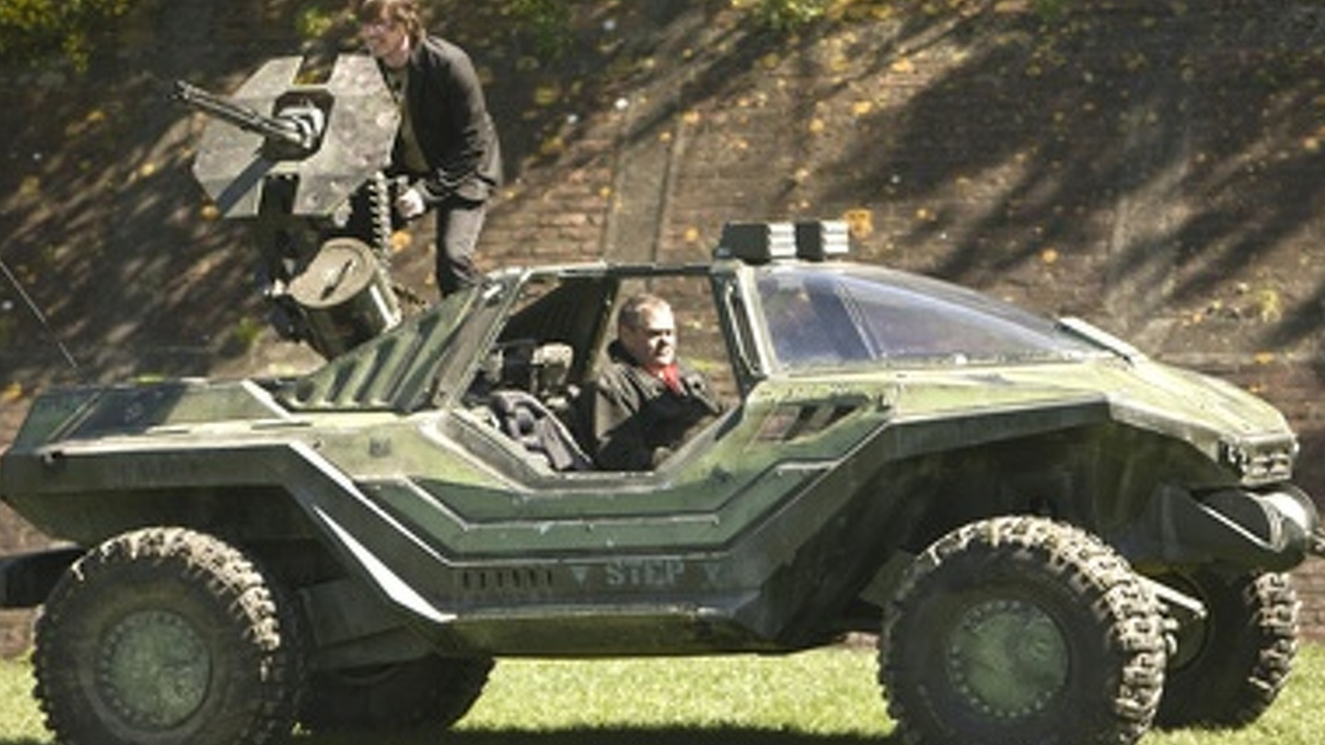 Real Life Halo Vehicles: Video Game: Halo Warthog Real Life Vehicle Goes For Test Drive