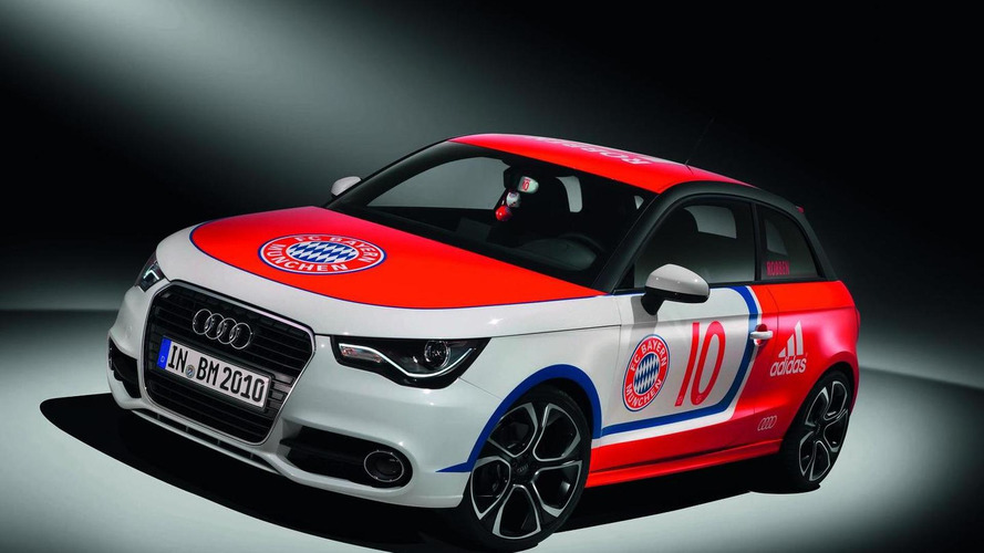 Wörthersee Tour 2010:  Audi A1s receive special designs