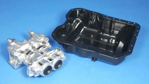 World Engine oil pump and oil pan