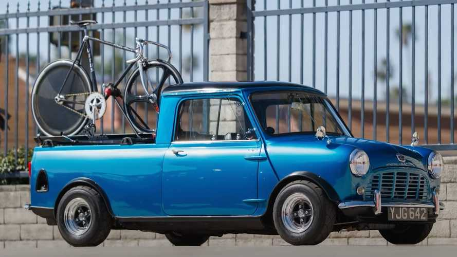 1962 Austin Mini truck build is the tiny hauler that does it all