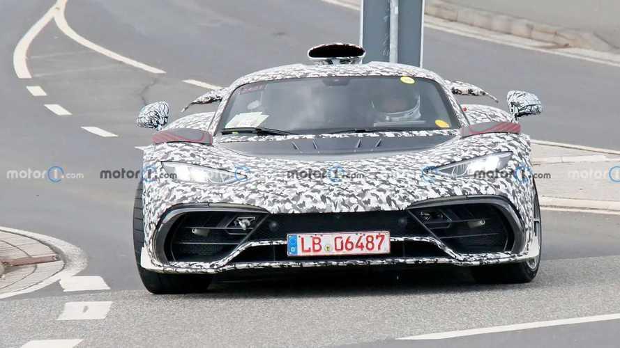 Mercedes-AMG One Spy Photos