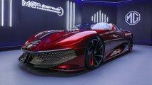 MG Cyberster Concept: Futuristische Studie mit 800 km Reichweite