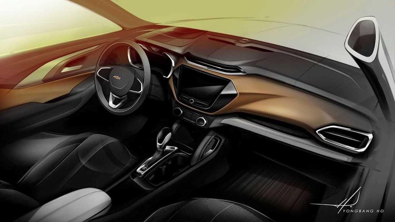 Chevy Trailblazer Interior Design Sketch