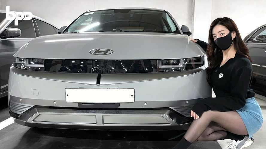 See Close-Up Video Of Silver Hyundai Ioniq 5