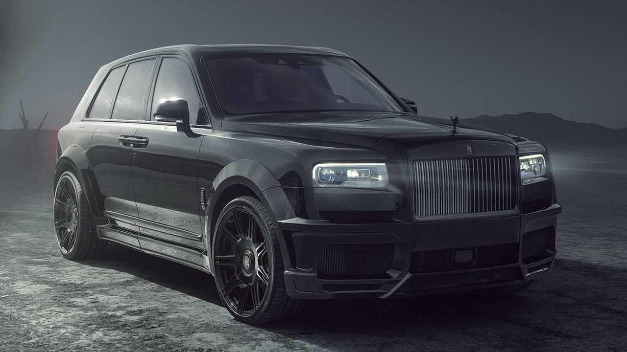 Bei Spofec wird der Rolls-Royce Black Badge Cullinan getunt