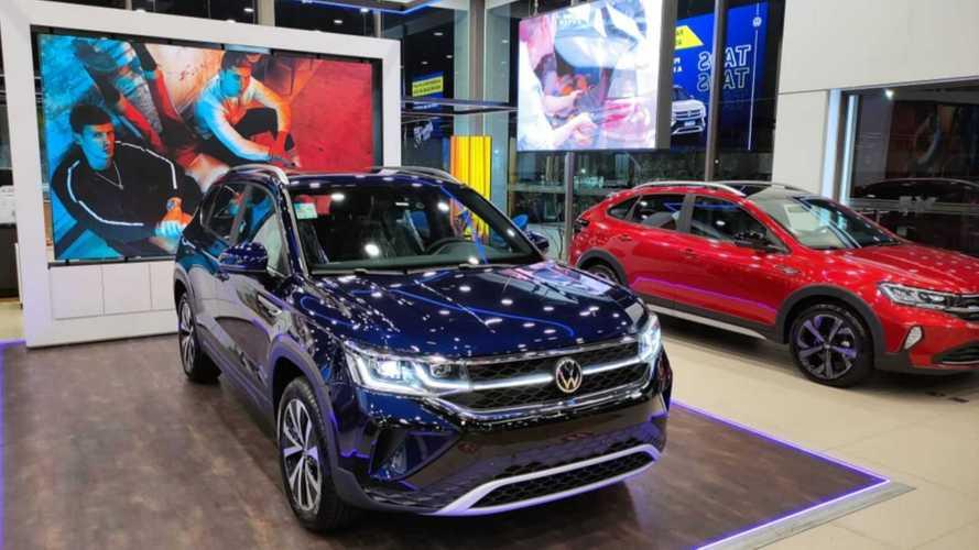 VW Taos 2022 já está nas lojas com preços a partir de R$ 154.990