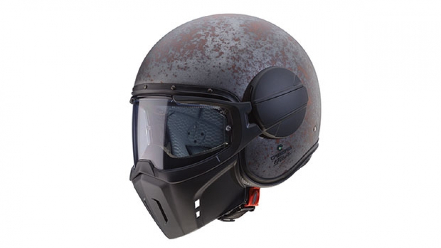 Caberg Ghost Rusty, il nuovo casco jet vintage